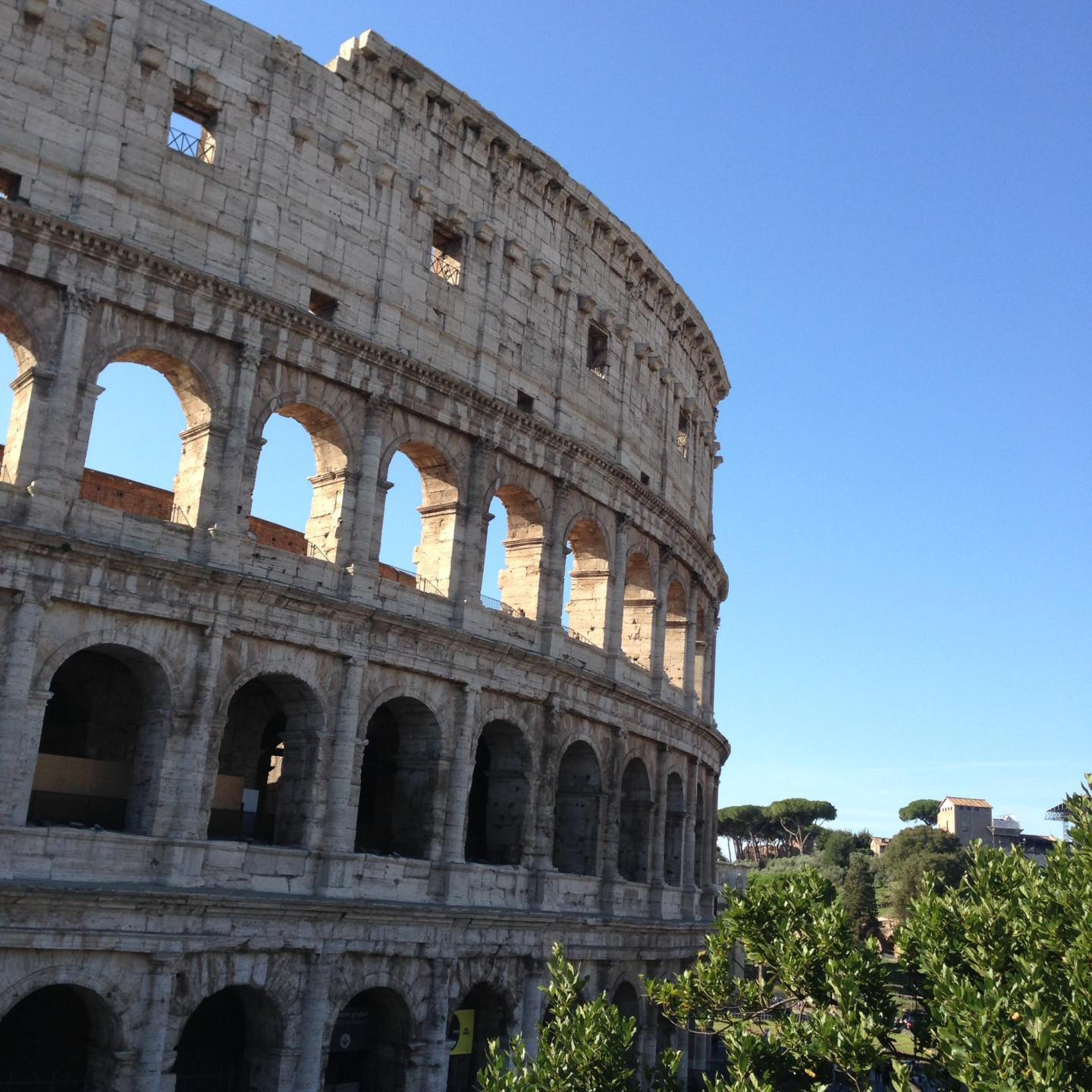 Enjoying Our Surprise Trip To Rome, Colosseum