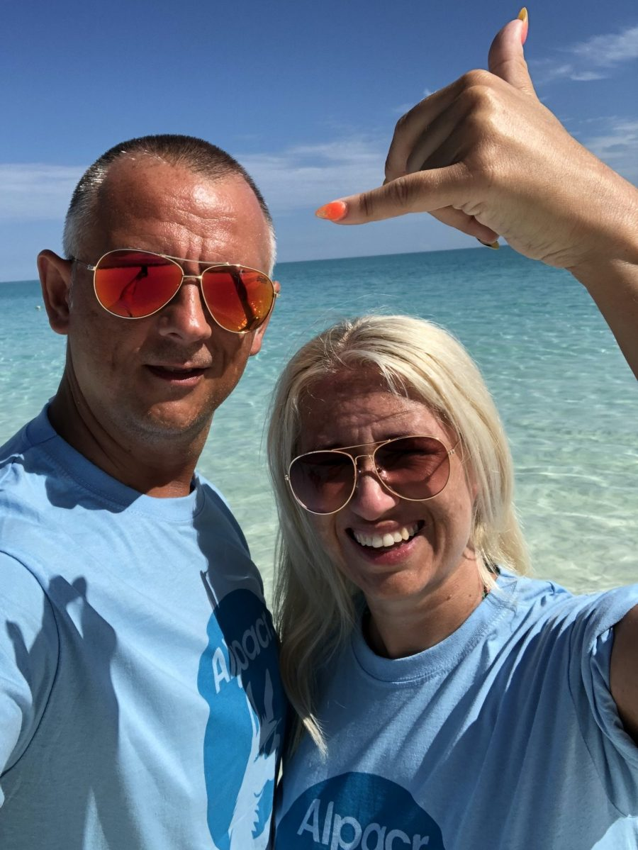 Jason And Vicky Taking The Alpacr Travel App To Cuba