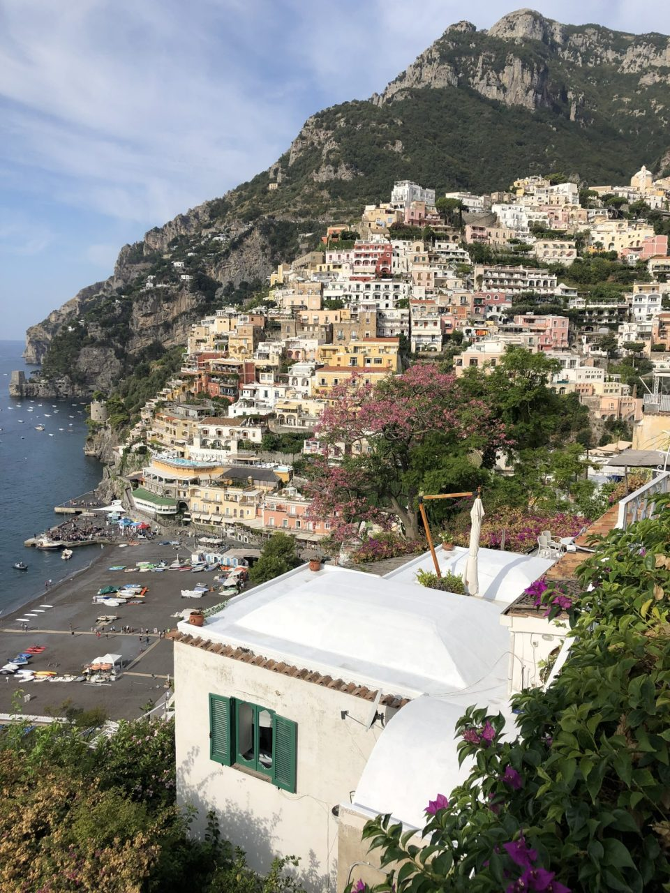 Colourful Cliff-side Buildings, Positano