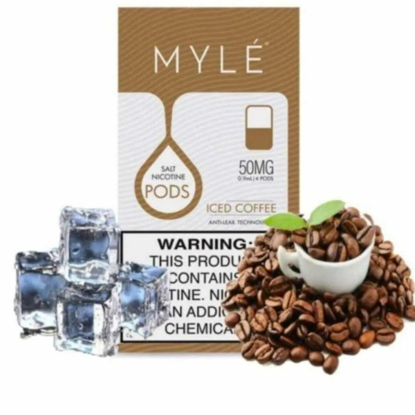 MYLE PODS ICED COFFEE BY V4