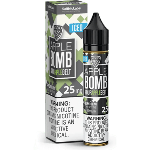 VGOD SALTNIC APPLE BOMB ICED 30ML