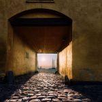Sun thorugh the gate