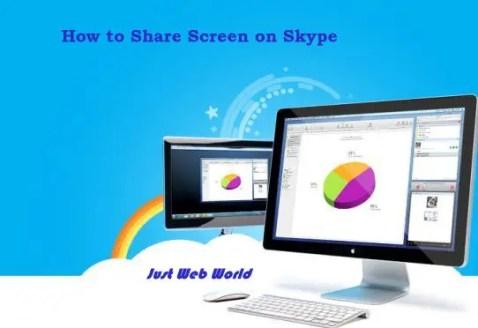 Share Screen on Skype