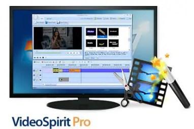 Video Spirit Pro Video Editing Software