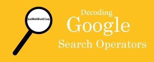 Decoding Google Search Operators