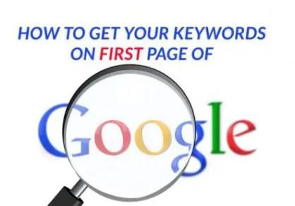 Improve Google Keyword Rankings