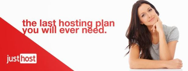 JustHost - affordable web hosting