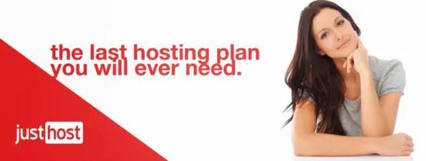 JustHost - affordable web hosting