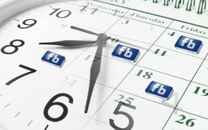 how to schedule a posts on facebook