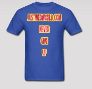 JustWebWorld T-shirts
