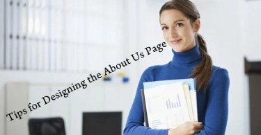 Tips for Designing About Us Page