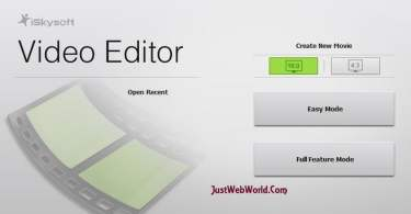 Video Editor Software from iSkysoft