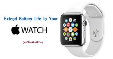 Extend Battery Life In Apple Watch