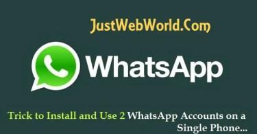 2 Whatsapp Account in One Phone | OGWhatsApp