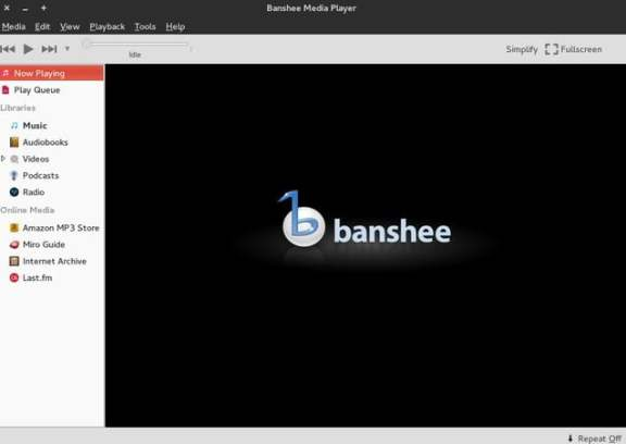 Banshee Music Media Player