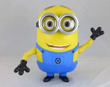 Minions have only 3 fingers