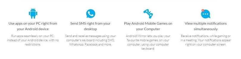 Mirror your android device to your computer