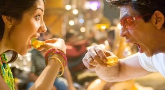 Shahrukh khan and Anushka sharma