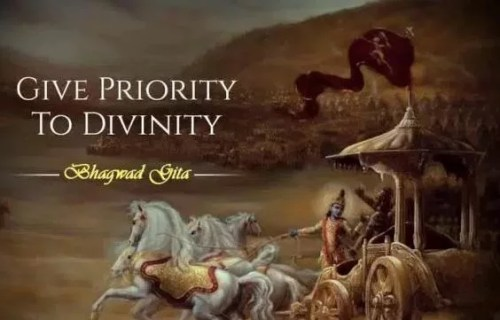 Give Priority to Divinity