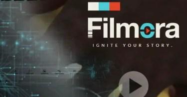 Filmora Wondershare Video Editor Software