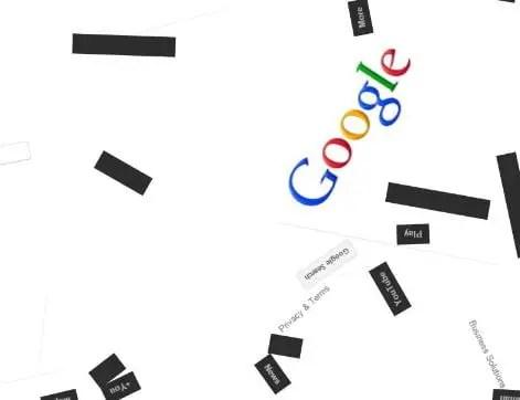 Google Anti Gravity Trick