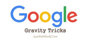 Google Gravity Tricks 2017