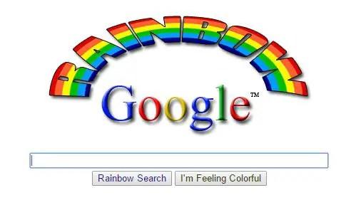 Rainbow Google