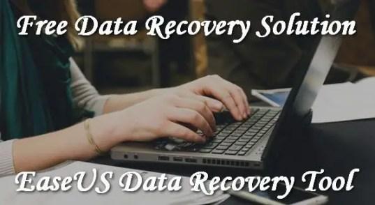 EaseUS Data Recovery Tool