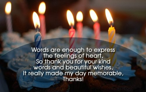 How to say thank you for your birthday wishes thank you notes thank you message for birthday greetings received m4hsunfo