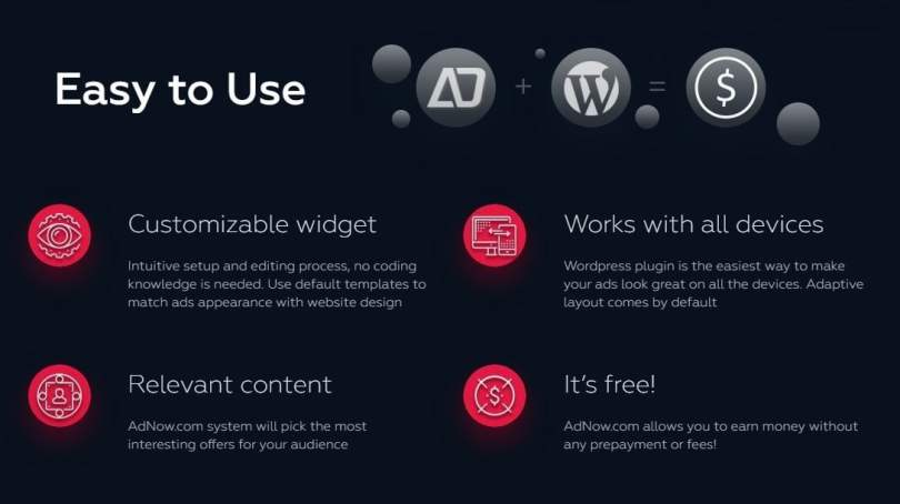 Easy to Use Adnow Plugin