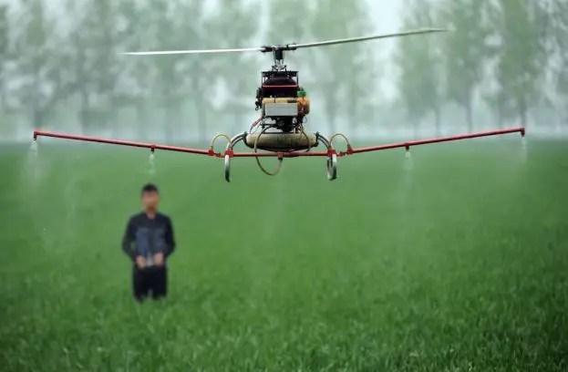 Crop Dusting Drone