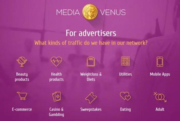 MediaVenus for Advertisers