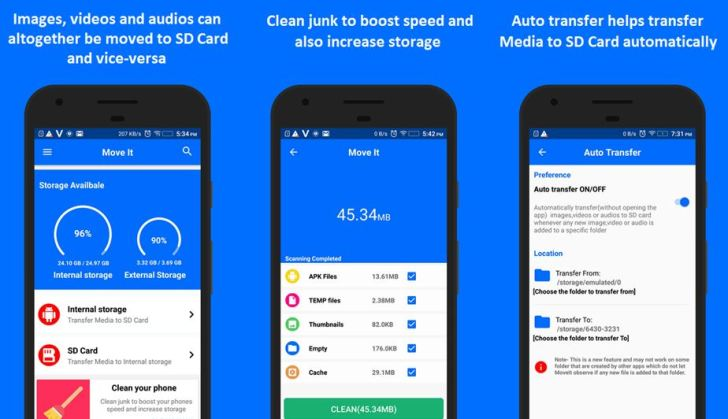 MoveIt Android App Review