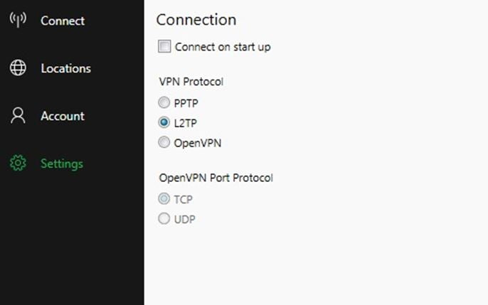 BulletVPN Secure Connection Protocols
