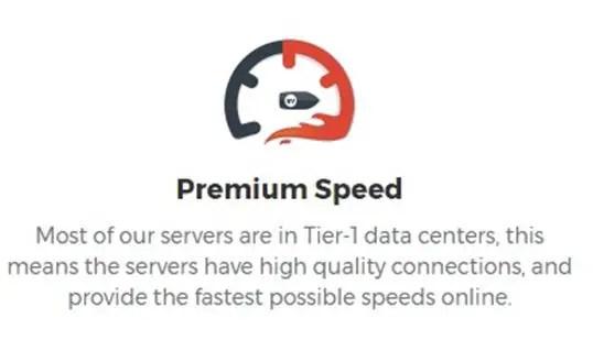 Tier-1 Servers (No Speed Loss)