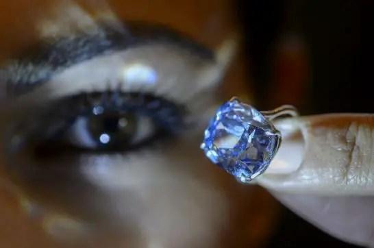 Blue Moon Diamond - The Most Expensive Diamond