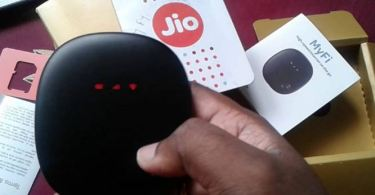 JioFi Portable 4G Wifi Router