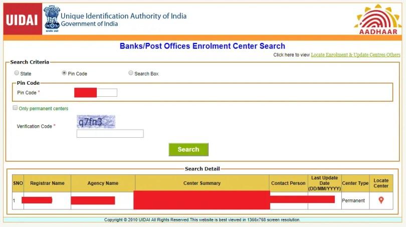 Aadhaar Data Update