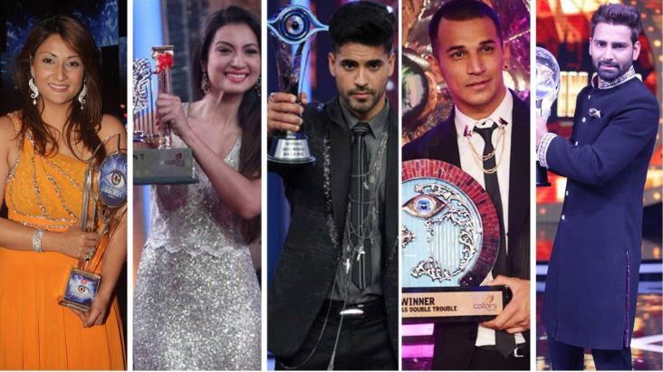Bigg Boss Winners List of All Seasons 1 to 12 (With Photos)