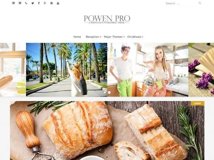 Powen Lite WordPress Theme