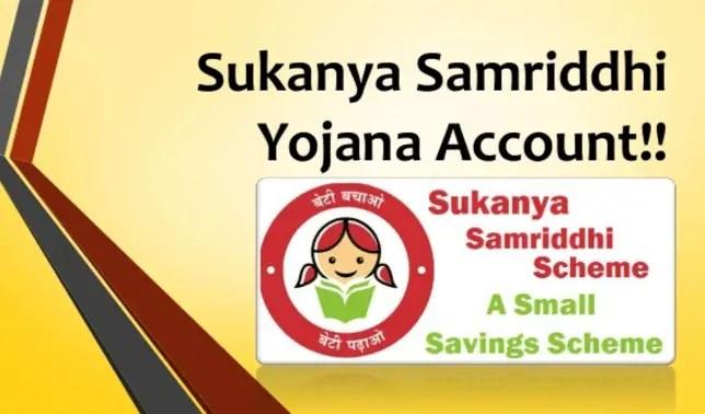 Pradhan Mantri Sukanya Samriddhi Yojana Account