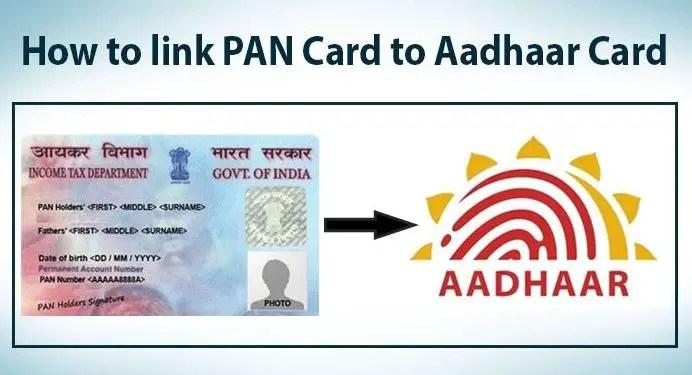 How to Link PAN Card to Aadhaar Card Online