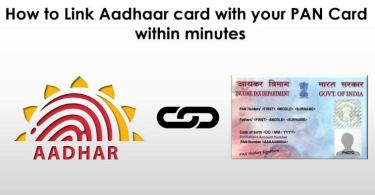 How To Link Up Aadhar Card To Bank Account Online
