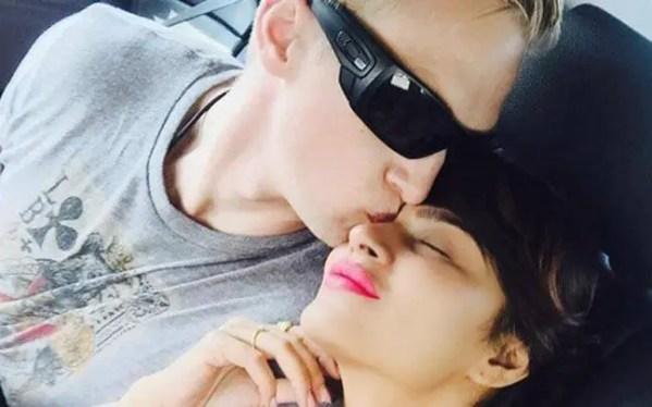 Aashka Goradia's fiancé Brent
