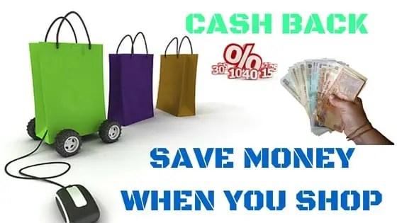 Cashback on Online Shopping