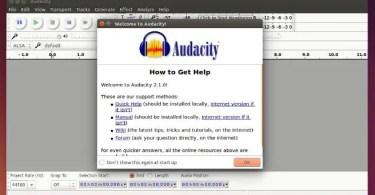 Troubleshooting on Using Audacity