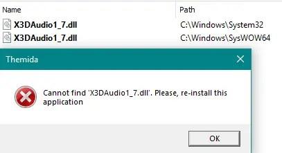 The x3daudio1_7.dll error
