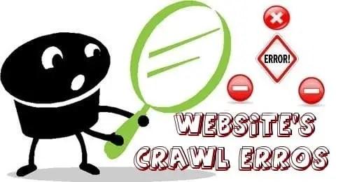 Types of crawl errors