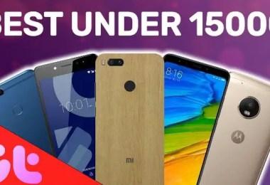 Best 4G Mobiles Below 15000 in India