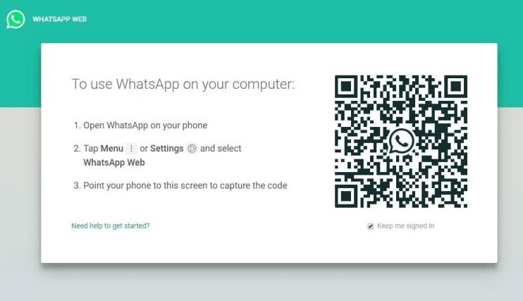 WhatsApp Web App for PC